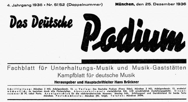 Das Deutsche Podium