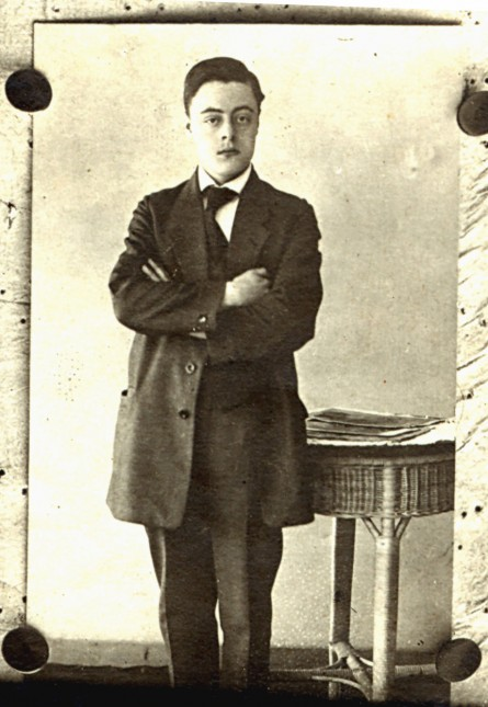Portraitfoto Wilhelm Heckmann 1916