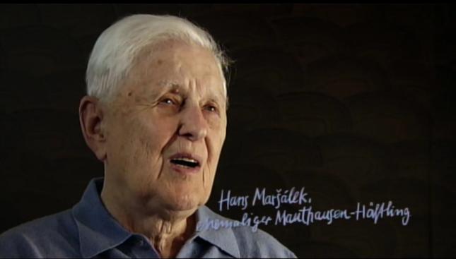 Mathausen Häftling Hans Maršálek