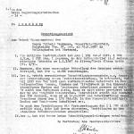 """Ermittlungsbericht zum Antrag auf """"Wiedergutmachung"""" und Entschädigung von Wilhelm Heckmann"""
